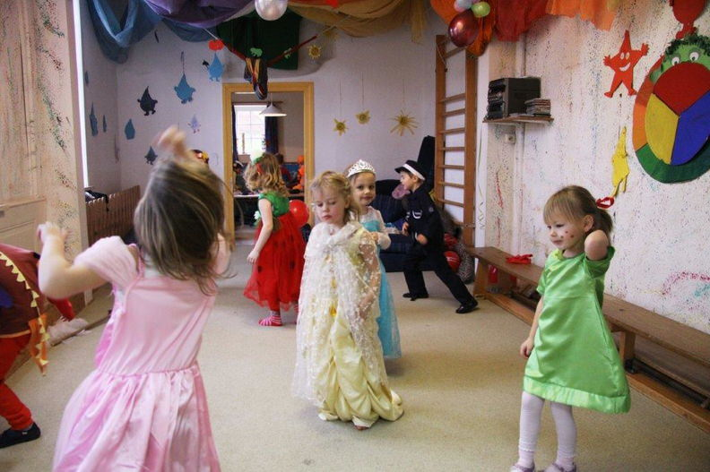 Fasching im Kindergarten Barskamp Bleckede